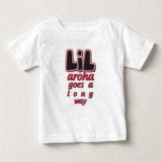 Camiseta Para Bebê LIL Aroha vai uma maneira longa