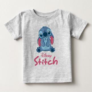 Camiseta Para Bebê Lilo & ponto & Scrump de Stich  