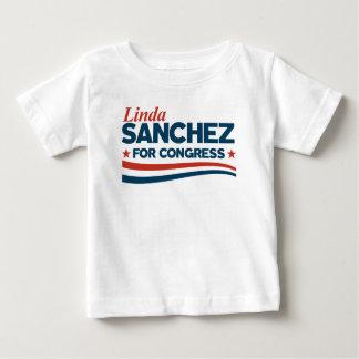 Camiseta Para Bebê Linda Sánchez