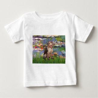 Camiseta Para Bebê Lírios 2 - Italiano Spinone #6
