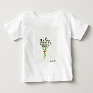 Camiseta Para Bebê Lírios de Calla