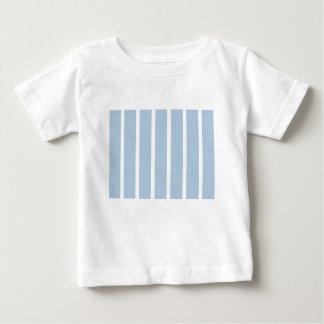 Camiseta Para Bebê Listras azuis e brancas chiques!