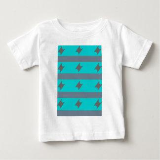 Camiseta Para Bebê listras cinzentas