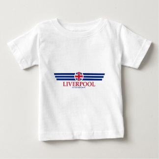 Camiseta Para Bebê Liverpool