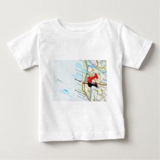 Camiseta Para Bebê Livorno, Italia