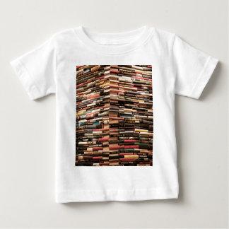 Camiseta Para Bebê Livros