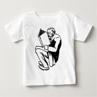 Camiseta Para Bebê Livros de leitura