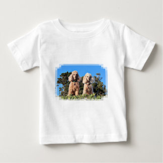 Camiseta Para Bebê Lixívia - caniches - Romeo Remy
