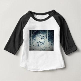 Camiseta Para Bebê Lobo da neve…