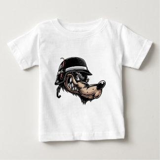 Camiseta Para Bebê Lobo dos desenhos animados