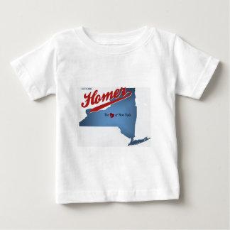 Camiseta Para Bebê Local histórico: O coração de NY