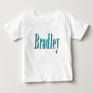 Camiseta Para Bebê Logotipo conhecido azul de Bradley,