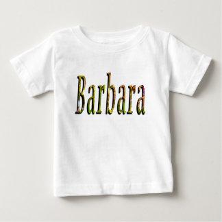 Camiseta Para Bebê Logotipo conhecido das meninas de Barbara,