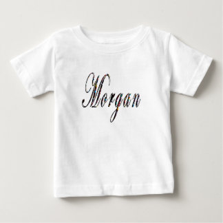 Camiseta Para Bebê Logotipo conhecido de Morgan,