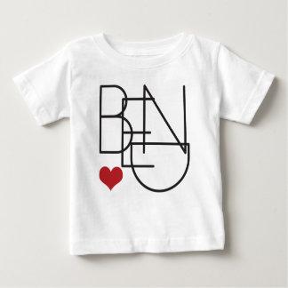 Camiseta Para Bebê Logotipo do coração da palavra de Oregon da