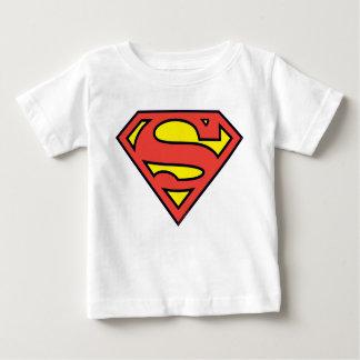Camiseta Para Bebê Logotipo do superman do S-Protetor | do superman