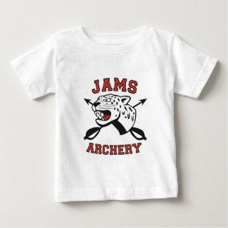 Camiseta Para Bebê Logotipo do tiro ao arco dos DOCES