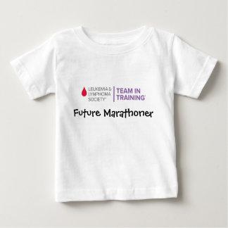 Camiseta Para Bebê Logotipo novo do marathoner-TNT futuro