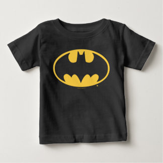 Camiseta Para Bebê Logotipo oval do símbolo | de Batman
