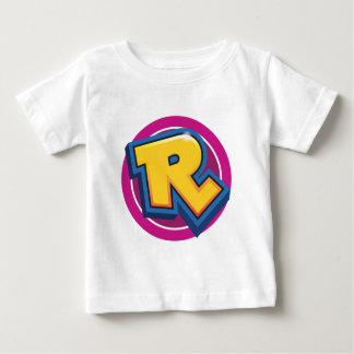 Camiseta Para Bebê Logotipo reduzido da ruptura