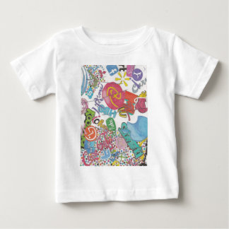 Camiseta Para Bebê Logotipos