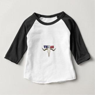 Camiseta Para Bebê longhorn inoperante de texas