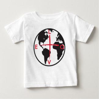 Camiseta Para Bebê LoveGlobe316 - fundo branco