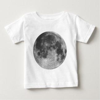 Camiseta Para Bebê Lua cheia