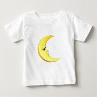Camiseta Para Bebê Lua considerável