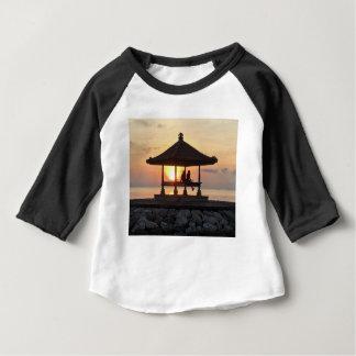 Camiseta Para Bebê Lua de mel em Bali