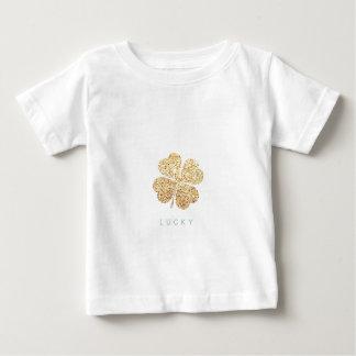 Camiseta Para Bebê lucky2ddada535ea3b4fd338715f4d90f8d93