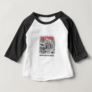 Camiseta Para Bebê Lugar de nascimento de Kentucky Lincolns