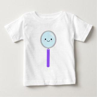 Camiseta Para Bebê Lupa de Kawaii