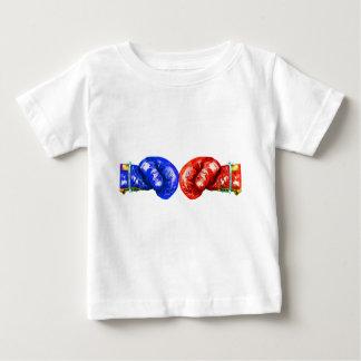 Camiseta Para Bebê Luvas de encaixotamento