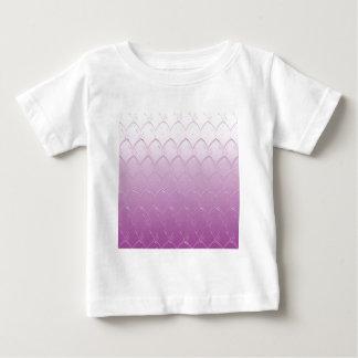 Camiseta Para Bebê Luz às escalas roxas escuras