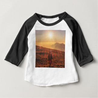 Camiseta Para Bebê Luz do sol - alvorecer ou crepúsculo
