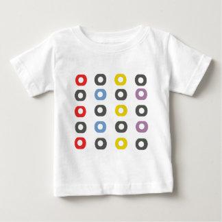 Camiseta Para Bebê Maçã do design