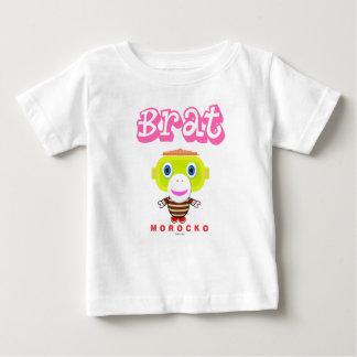 Camiseta Para Bebê Macaco-Morocko Pirralho-Bonito