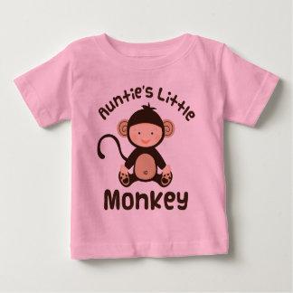 Camiseta Para Bebê Macaco pequeno dos Aunties
