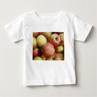 Camiseta Para Bebê Maçãs