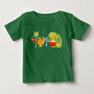 Camiseta Para Bebê Maçãs & bananas - banda