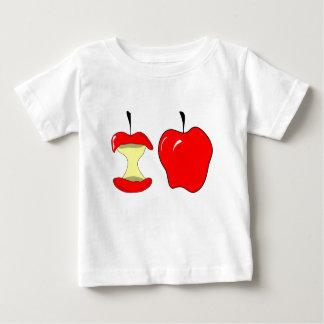 Camiseta Para Bebê maçãs saborosos