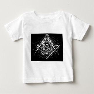 Camiseta Para Bebê Maçonaria-Maçónico-Alvenaria