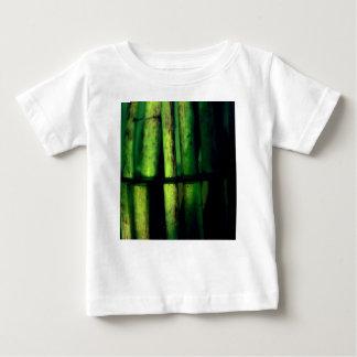Camiseta Para Bebê Macro verde