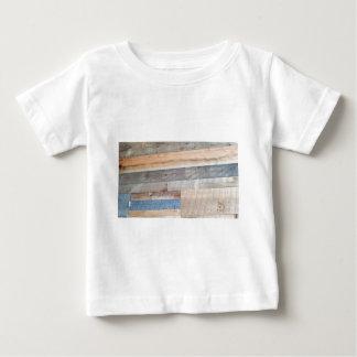 Camiseta Para Bebê Madeira rústica
