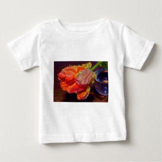 Camiseta Para Bebê Magic Conversas Tulip