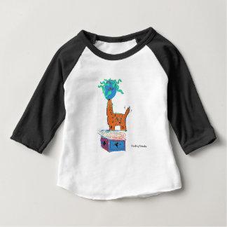 Camiseta Para Bebê Mágica do girafa