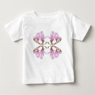 Camiseta Para Bebê Magnólia