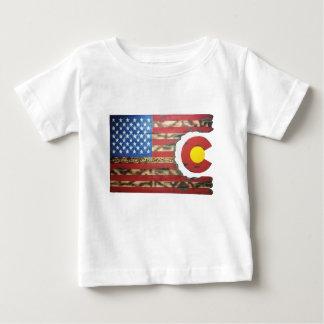 Camiseta Para Bebê Main_Colorado_Veterans