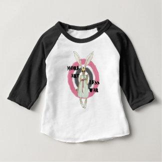 Camiseta Para Bebê Mais arte menos guerra